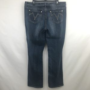 Seven7 Slim Boot Jeans Bootcut Dark Wash